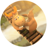Cartoon Doghouse – Bridge