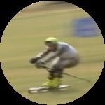 """Betrand (Summer """"Grass"""" Skiing)"""