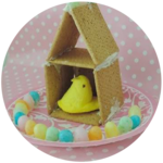 EASTER CRAFT: A home for your Peeps