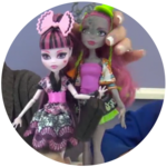 Monster High Exchange: Lorna McNessie, Marisol Coxi, Lagoona, and Draculaura Dolls Review