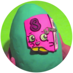Shopkins Season 3 Secret Sally Giant Play Doh Surprise Egg
