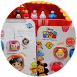 Disney Tsum Tsum Vinyl Figures SERIES 2 - 9 Packs Toy Review
