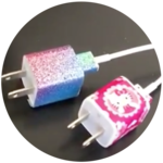 How To Decorate Phone Chargers