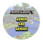 Armor and Damage in Minecraft