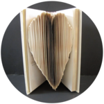 Heart Folded Book