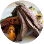Grilled Flank Steak and Veggies | Cook With Amber