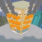 El Banco Se Quema (The Bank is Burning)