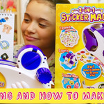 How to Make Your Own Stickers with the 2 in 1 Sticker Machine
