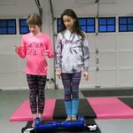 Dizzy Gymnastics Hoverboard Challenge