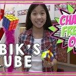 Charlie Solves The Rubik's Cube