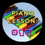 Piano Lesson #14