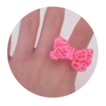 Bow Ring Rainbow Loom Tutorial