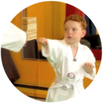 Learning Tae Kwon Do