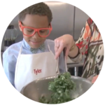 How to Make Kale Chips with Kids