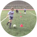Single Cut & Double Cut Soccer Dribbling Moves