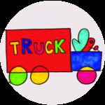 Butterfly Driving A Truck