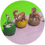Disney Pixar The Good Dinosaur Playdoh Surprise Eggs Full Cast All Characters
