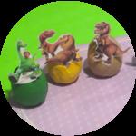 Disney Pixar The Good Dinosaur Playdoh Surprise Eggs Full Cast All Characters