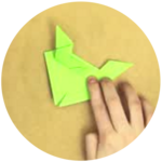 The Origami Frog