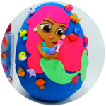 Splashlings Mermaids Giant Playdoh Egg and 12 Pack Toy Review