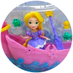 Disney Little Kingdom Princess Ariel and Rapunzel Boats in Orbeez Toy Review