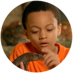 This is Isaiah Learning About Reptiles