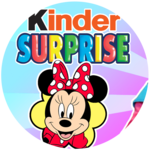 Minnie Mouse Kinder SURPRISE EGGS! | 6 Surprise Toys