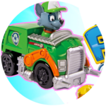 PAW PATROL Racers Team Pack! Rubble, Rocky & Skye!
