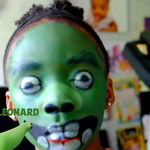 Angry Birds Face Paint Challenge: Leonard the PIG!