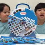 THOMAS AND FRIENDS Minis and Collector's Playwheel GOLDEN THOMAS Unboxing | Liam and Taylor's Corner