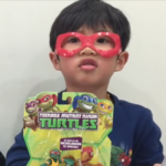 TMNT Half-Shell Heroes Toy Unboxing and Review Leonardo Raphael Dinosaurs | Liam and Taylor's Corner
