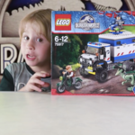 "LEGO Jurassic World set 75917: ""Raptor Rampage"" Stop Motion Build Animation - Beau's Toy Farm"