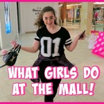Things Girls Do At The Mall