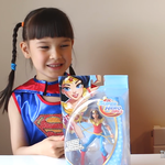 DC Superhero Girls Action Figures Surprise Box unboxing! Supergirl rescue Barbie sister Chelsea