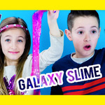 GALAXY SLIME PINTEREST DIY! HOW TO MAKE GALAXY PUTTY, DIY RECIPE| PLP TV