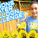 Minions Water Balloon Challenge | Bunch O Balloons | In Mad's World