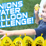 Minions Water Balloon Challenge | Kids Wild Ride | Bunch O Balloons Zuru