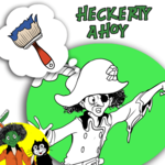 Heckerty Ahoy! - Coloring