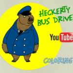 Heckerty Bus Driver - Coloring