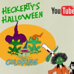 Heckerty's Halloween - Coloring
