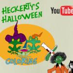 Heckerty's Halloween - Coloring