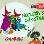 Heckerty's Christmas - Coloring