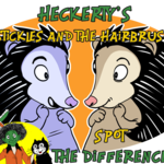 Heckerty - Stickles and the Hairbrush – Spot the Difference