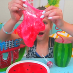 WATERMELON SLIME without Borax!