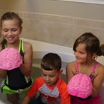 Giant Brain Bath Bomb