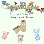 Create-Along: Shoe Print Horse