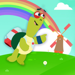 Flying With Uga | KinToons Stories For Children