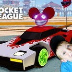 Rocket League Gameplay PS4 by Owen and Liam's Toy Review