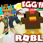 *NEW* EGG FARM SIMULATOR!! HATCH CHICKENS BY... HUNTING CHICKENS?! (Roblox) by TwiistedPandora