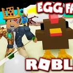 *NEW* EGG FARM SIMULATOR!! HATCH CHICKENS BY... HUNTING CHICKENS?! (Roblox) by TwiistedPandora